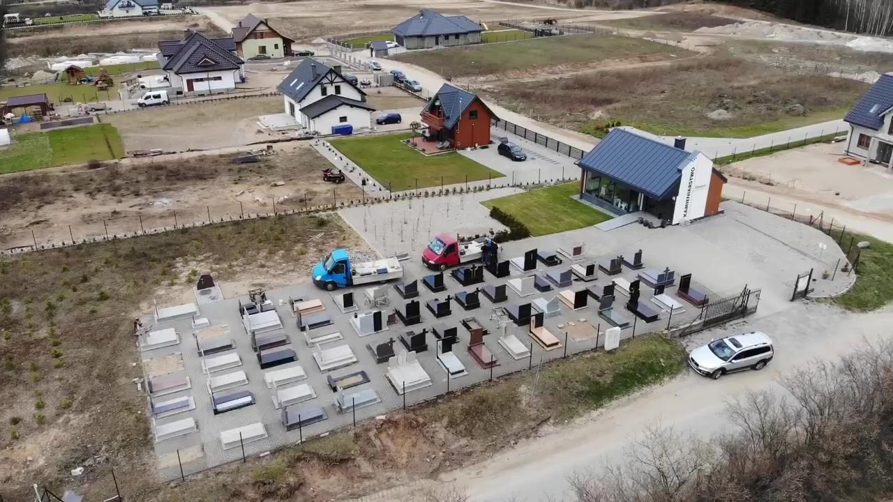 Siedziba Kamieniarstwo Multistone widoczne z lotu ptakta